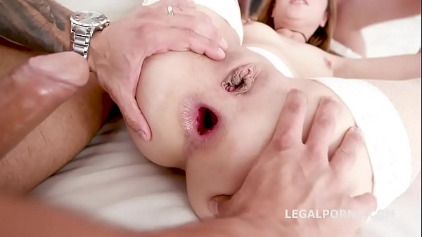 Dap Destination 4on1 Karry Slot DAP Breaking with Balls Deep Anal, DP