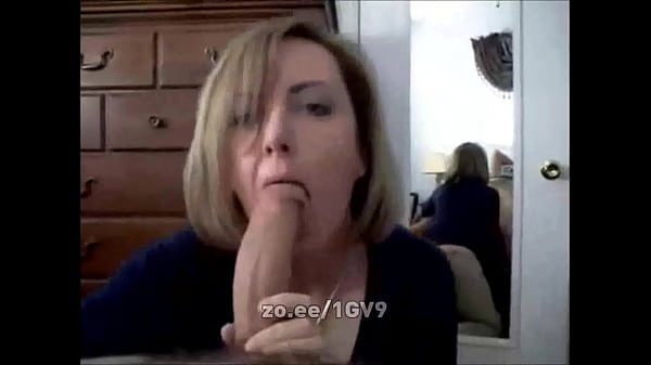 Slutty wife sucks and licks cock like a hungry nympho and takes his facial
