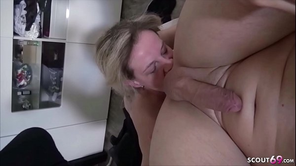 Extrem Skinny German Mom in Real Homemade First...