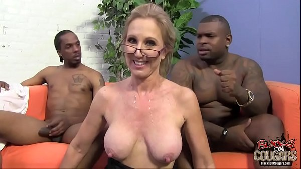 Two black guys are in love with their granny te...