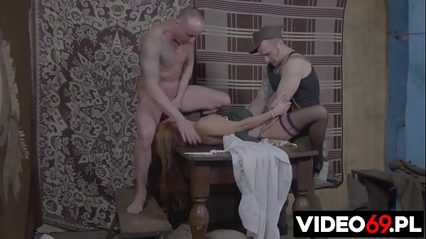Polish porn - d. soldiers rough village girl on the table