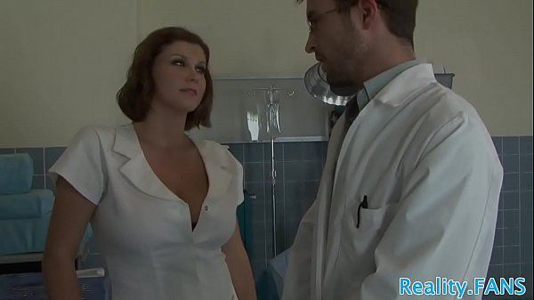 MILF nurse with hugetits fucked from behind Thumb