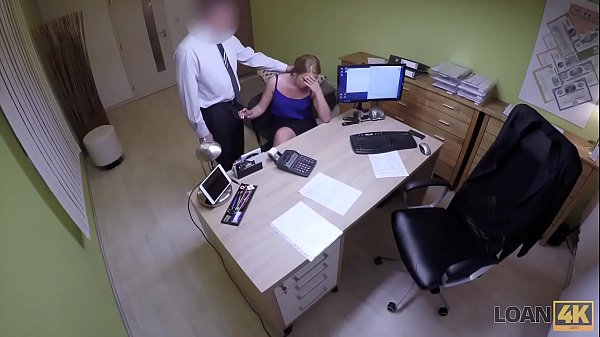 LOAN4K. Teen girl cant pay for education so why seduces loan agent Thumb