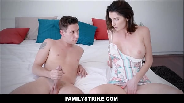 Hot MILF Stepmom With Big Tits Loves Her Son's ...