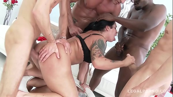 Big Ass Monica Santiago Fucked Rough with DPP