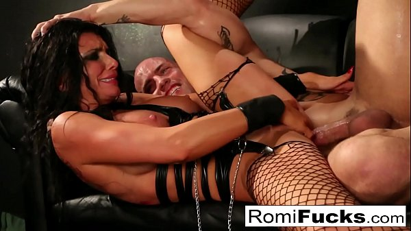 Romi Rain Chained and roughed up by Derrick Pierce
