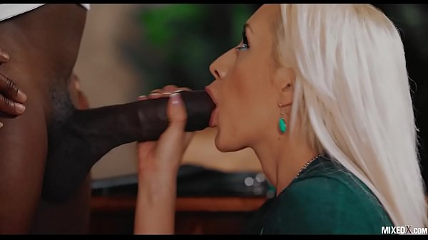 DOMINANT BULL MONSTER BIG BLACK COCK FUCK HIS BLONDE ASSISTANT