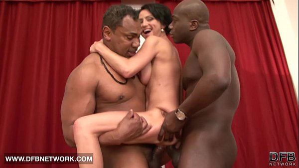 Mature Rough Double Fucked Likes Big Black Cock...