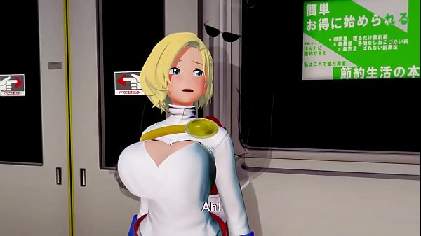 Power Girl Sex Scene (3D Animation)