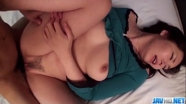 Busty Haruka Ohsawa receives cock in her puffy cunt