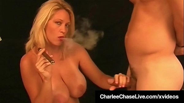 Hot Smoker Milf Charlee Chase Makes Boy Toy Lick Her Pussy