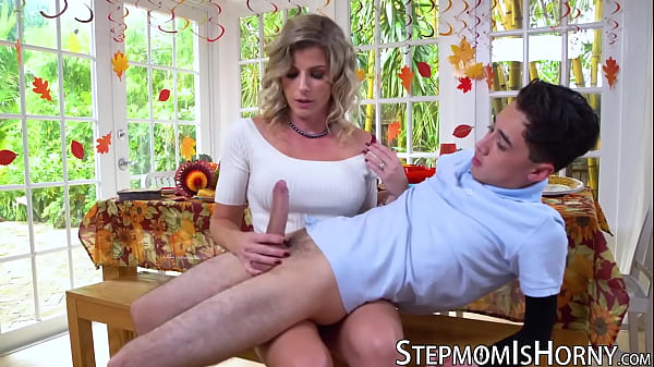 Insatiable stepmom Cory Chase banged by lucky young dude Thumb