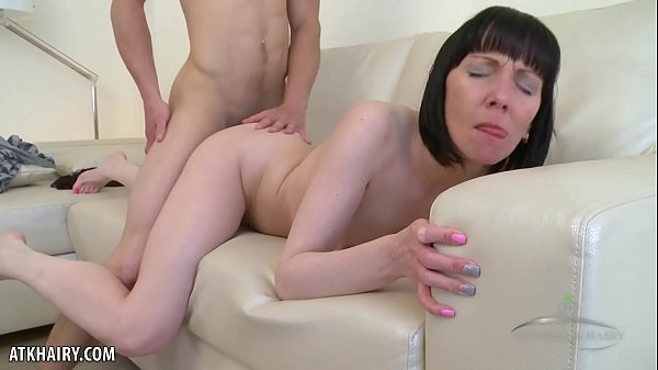 Cherry Despina gets her hairy twat rammed with dick Thumb