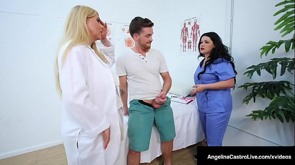 Thick Busty Docs Angelina Castro & Karen Fisher Fuck Patient Thumb