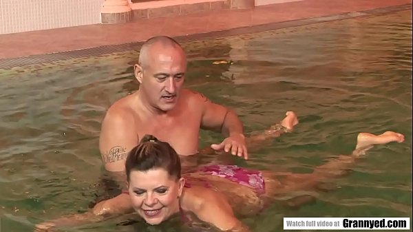 The reward of a swimming lesson is a firm Cock in Samantha's GILF Pussy Thumb