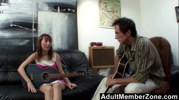 Delila Darling Is Using Her Pussy To Pass The Music Test