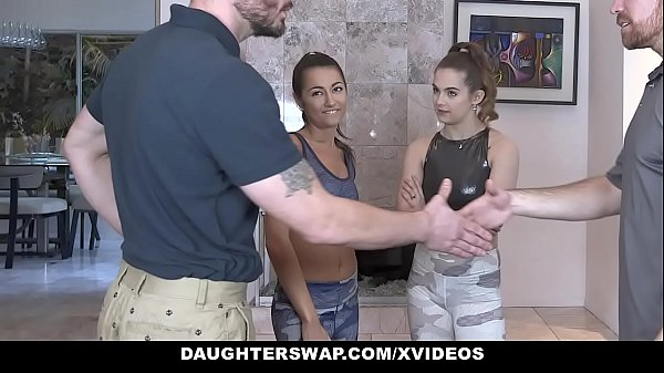 DaughterSwap - Cute Petite Teen (Devon Green) (Lily Adams) Gets Fucked By Gymnast Dad Thumb