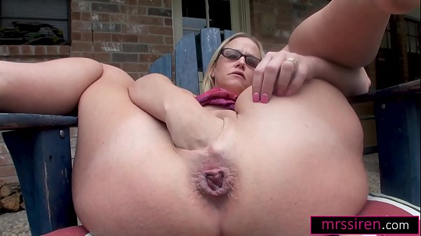 I FIST Myself and SQUIRT outdoors with a HUGE Toy