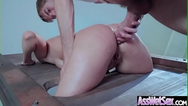 (Kate England) Horny Girl With Big Oiled Ass Get It Hard In Her Behind clip-21