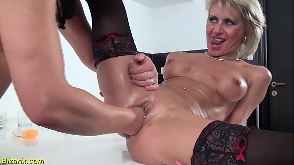 extreme rough deepthroat in all her holes