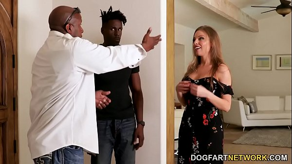 Married Britney Amber Offers Anal Sex And DP For New Black Neighbor Thumb