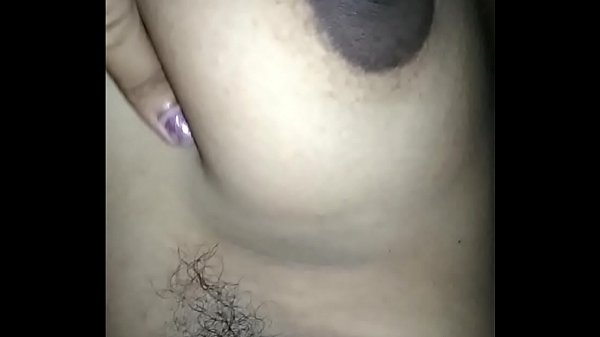 I am playing with my big boobs and nipples hubby filming...