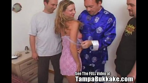 Slut Wife Sherry's Group Sex Tampa Bukkake s. P...
