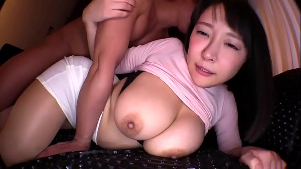 Busty Japanese Babe Gets Fucked on Sofa on First Date