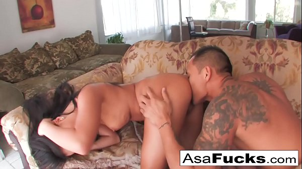 Asa Akira having some great sex with her boy toy Keni