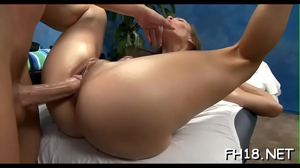 Sexy 18 year old girl gets screwed hard by her massage therapist