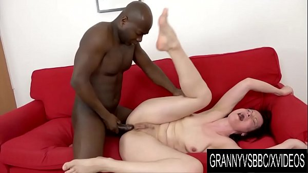 Granny Vs BBC - Mature Claudie Dark Prepares Her Ass for BBC with Huge Toy Thumb