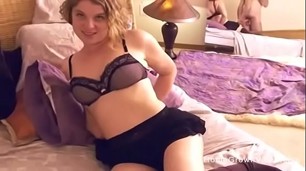 Big tit blonde girlfriend gets ass fucked in POV