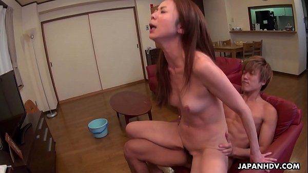 Japanese cleaning lady Nanako Misaki is ready for dick riding