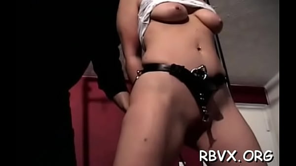 Captivating maid costume is rubbing her cuch