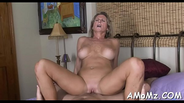Skillful older impaled on cock