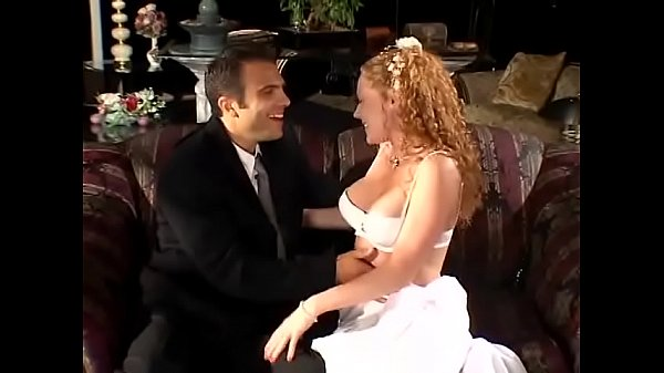 Salacious redhaired bride Audrey Hollander told her new wed that her devout wish was to get kicked with the left foot Thumb
