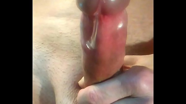 making precum and dripping like syrup while mas...