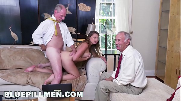 BLUE PILL MEN - Young PAWG Ivy Rose Stuffed With Geriatric Cock