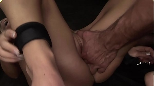 Extremely pretty girl Trinity. Part 3. Sexy slave roughly stuffed
