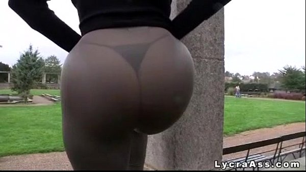 Ass leggings candid thong tights