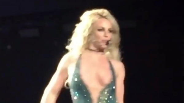 Britney Spears - Nipslip during Las Vegas Performance - (uploaded by celebeclipse.com) Thumb