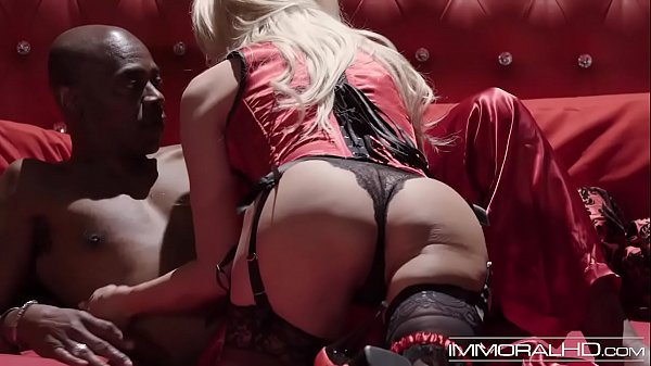 Busty cougar Jessica Drake has big black dick in her pussy