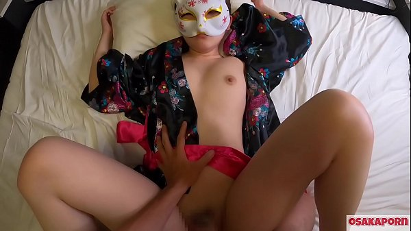 Young cosplay girl loves sex of orgasm in cowgirl and doggy. Amateur Asian with hairy pussy and beautiful tits in Japanese traditional costume shows shower after gets creampie. Sakura 10  OSAKAPORN Thumb