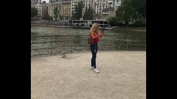 Horny tourist Sienna Day picked up on the streets of Paris for great sex