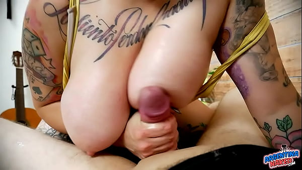 BBW With Huge Tits Sucking on Cock like if it was Her Last Day!