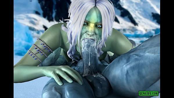 Ice Heat. 3D fantasy porn Thumb