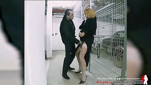 Blonde MILF fucked in ass after public blowjob