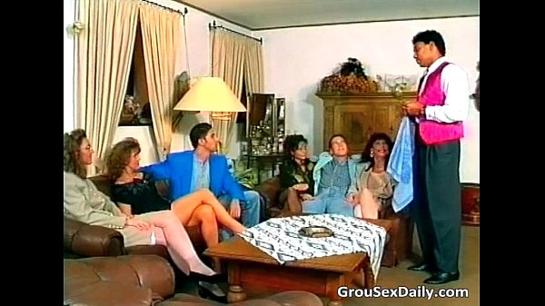 Great and steamy group sex party