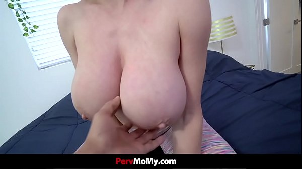 Stepmom With Huge Tits Gets Her Stepson Hard While Doing Yoga