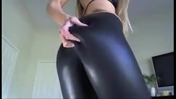 Shiny Black Leggings